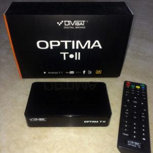 Андроид приставка Divisat Optima T-II (DVB-T2 SMART TV)