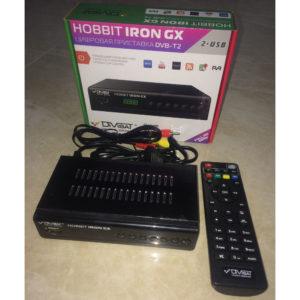 Приставка для цифрового эфирного ТВ HOBBIT IRON GX (DVB-T2)