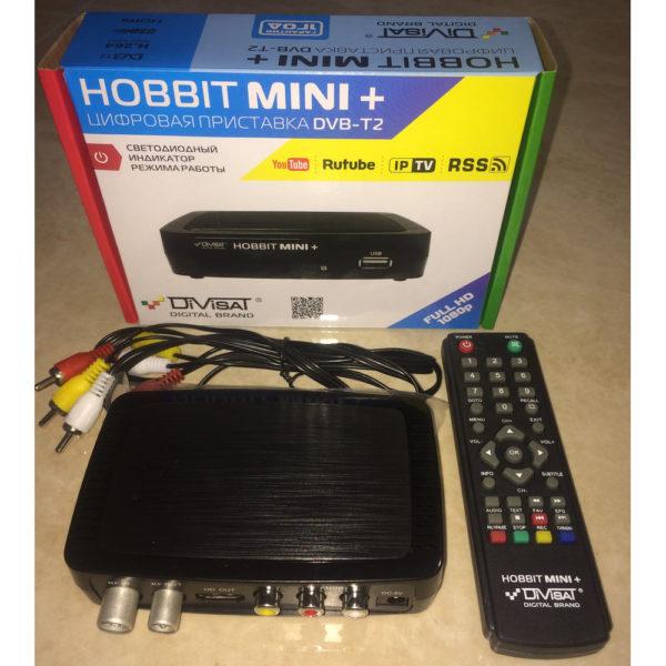 Приставка для цифрового эфирного ТВ HOBBIT MINI+ (DVB-T2)