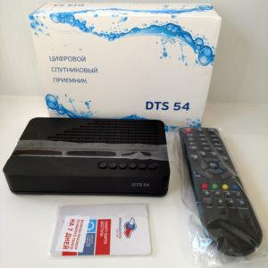 Спутниковый приёмник DTS-54L + карта доступа