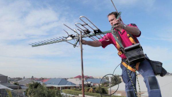 Установка и настройка уличной антенны (DVB-T2)